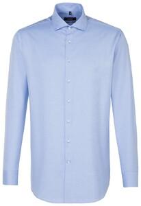 Seidensticker Comfort Uni Twill Aqua Blue
