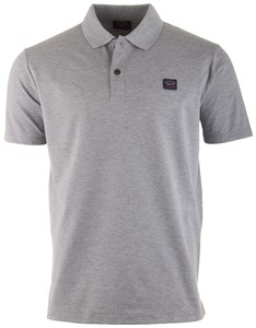 Paul & Shark Organic Cotton Basic Polo Grijs
