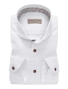 John Miller Uni Cutaway Cotton White
