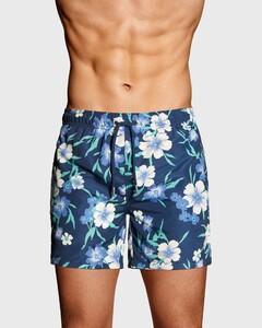 Gant Floral Swim Short Persian Blue