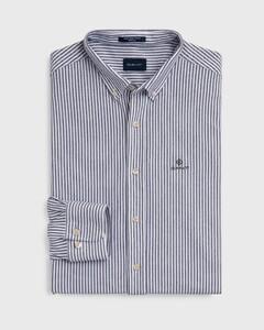 Gant Tech Prep Piqué Stripe Persian Blue