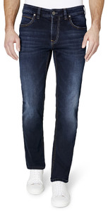 Gardeur BATU-2 Modern-Fit 5-Pocket Jeans Dark Denim Blue