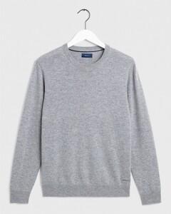 Gant Wool Cashmere Dark Grey Melange