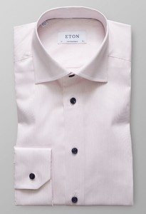 Eton Twill Business Faux Uni Roze