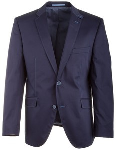Roy Robson Shape Fit Gloss Cotton Jacket Blauw