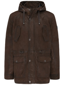 Fynch-Hatton Parka Lamb Nappa Chocolate