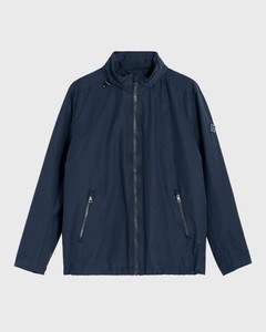 Gant The Coast Mid Jacket Avond Blauw