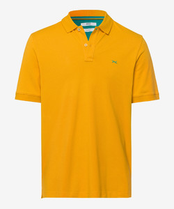 Brax Pete Uni Polo Honey Gold