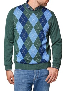 Maerz Merino Argyle Check Leisteen