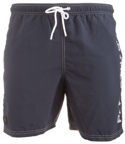 Paul & Shark Shark Stitch Contrasted Shorts Navy