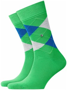 Burlington King Socks Green