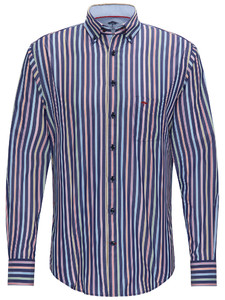 Fynch-Hatton Maritime Story Multi Stripe Navy