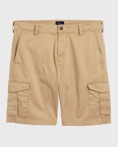 Gant Relaxed Twill Utility Shorts Donker Khaki