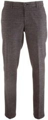 MENS Madison Wool-Look Check Antraciet
