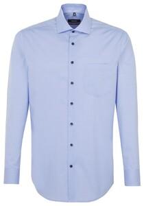 Seidensticker Business Uni Comfort Blauw