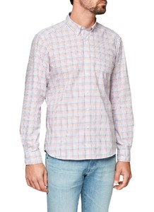 Maerz Button Down Check Candy Apple