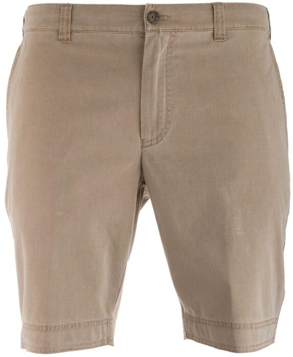 MENS Modern Fit Kuba Shorts Bermuda in kleur Donker Zand