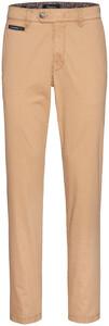 Gardeur Benny-3 Contrasted Pima Cotton Flex Fine Orange