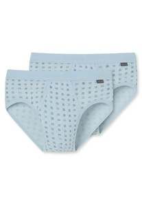 Schiesser Sports Brief 2Pack Light Blue