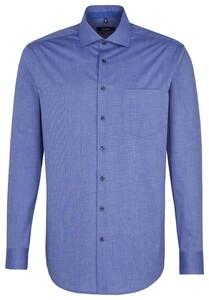 Seidensticker Spread Kent Business Sleeve 7 Sky Blue Melange