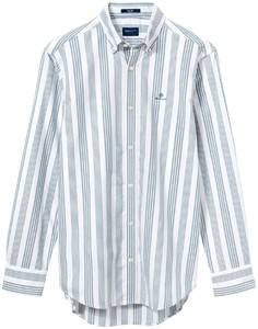 Gant Gant Beacons Project Tech Prep Wide Stripe Bladgroen