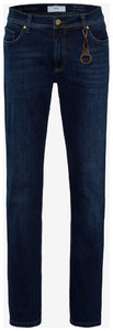 Brax Cadiz 5-Pocket Jeans Regular Blue Used Melange