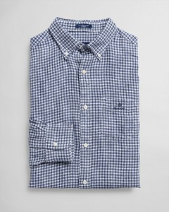 Gant The Linen Check Persian Blue