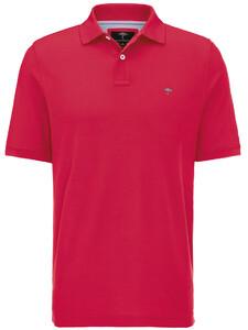 Fynch-Hatton Uni Casual Fit Polo Flamingo