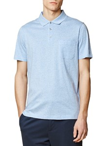 Maerz Uni Polo Short Sleeve Star Blue