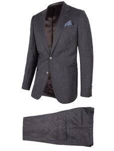 Cavallaro Napoli Grado Suit Donker Grijs
