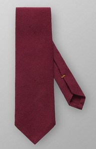 Eton Shantung Cotton Silk Rood