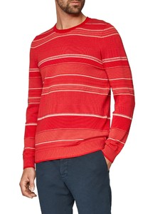 Maerz Striped Pullover Just Red