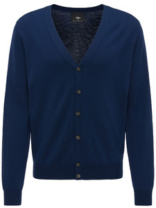 Fynch-Hatton Cardigan Button Wool Night