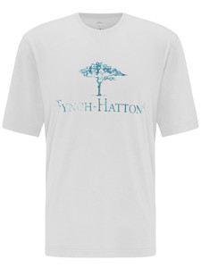 Fynch-Hatton Logo T-Shirt Wit