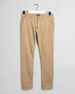 Gant Slim Light Canvas Chino Zand