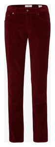 Brax Cooper Fancy Cotton Rib Maroon