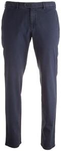 Hiltl Hiltl - Pantalon CO - 20100 Tierre - 73602 Jaipure Structure Blauw
