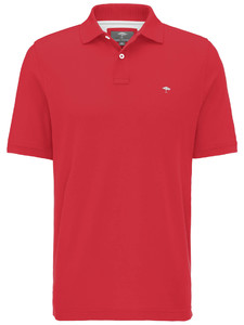 Fynch-Hatton Uni Casual Fit Polo Sangria