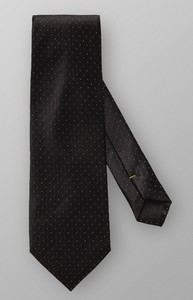 Eton Micro Dotted Shimmering Zwart