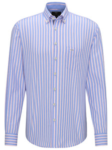 Fynch-Hatton Light Stripe Cotton Candy-Blue