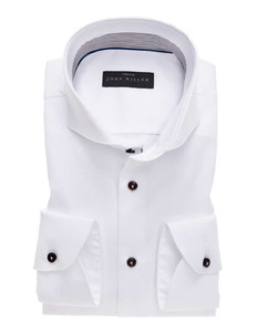 John Miller Cotton Stretch White
