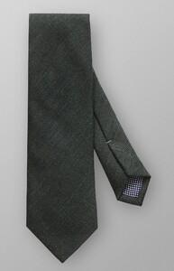 Eton Wool Silk Structure Donker Groen Melange