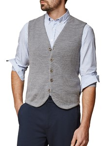 Maerz Gilet Merino Superwash Mercury Grey