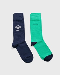Gant 2Pack Sports Gift Box Socks Persian Blue