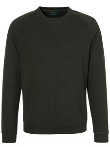 Pierre Cardin Denim Academy Sweatshirt Crewneck Olive Brown