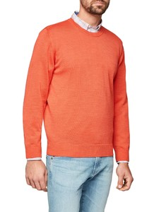Maerz Round Neck Merino Superwash Candy Apple