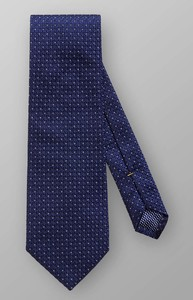 Eton Pin Dot Silk Dark Navy