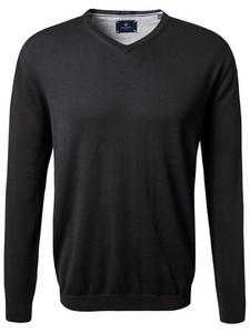 Pierre Cardin V-Neck Royal Blend Zwart