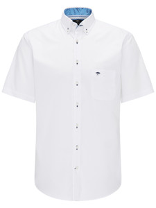 Fynch-Hatton Light Summer Shirt Wit