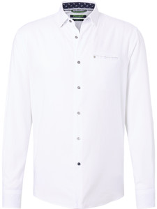 Pierre Cardin Faux Uni Denim Academy White